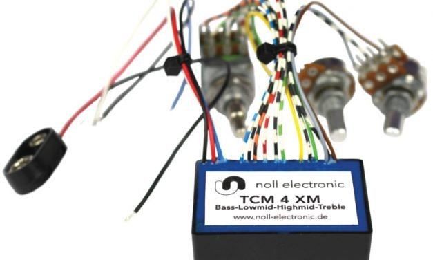 Noll TCM 4XM 4-Band Onboard Bass Preamp