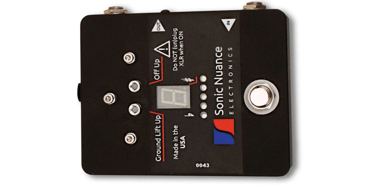 Sonic Nuance Tuner + DI (TDI) Mk2 Pedal