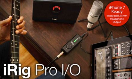 iRig Pro I/O – the most advanced mobile Audio/MIDI interface is now shipping