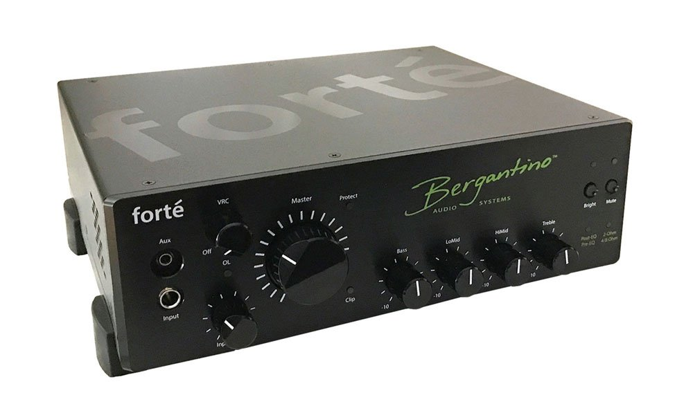 Bergantino Forte amplifier begins shipping fall 2017