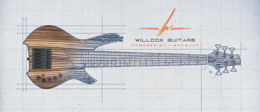 Willcox Guitars Debuts the USA Custom Shop Saber Bass