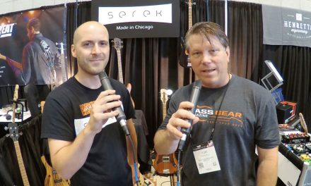 Summer NAMM '17 – Serek Basses Interview
