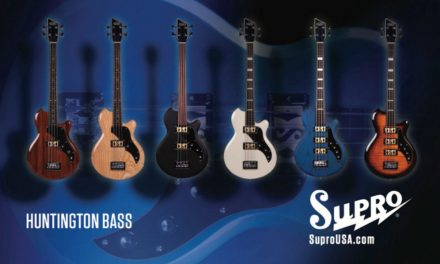 Supro launches the Huntington bass at Summer NAMM