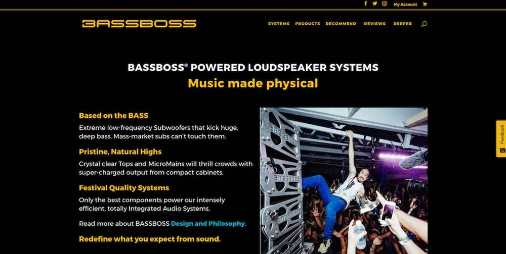 Personalized Shopping Experience: BASSBOSS Launches New Website With Custom System Builders