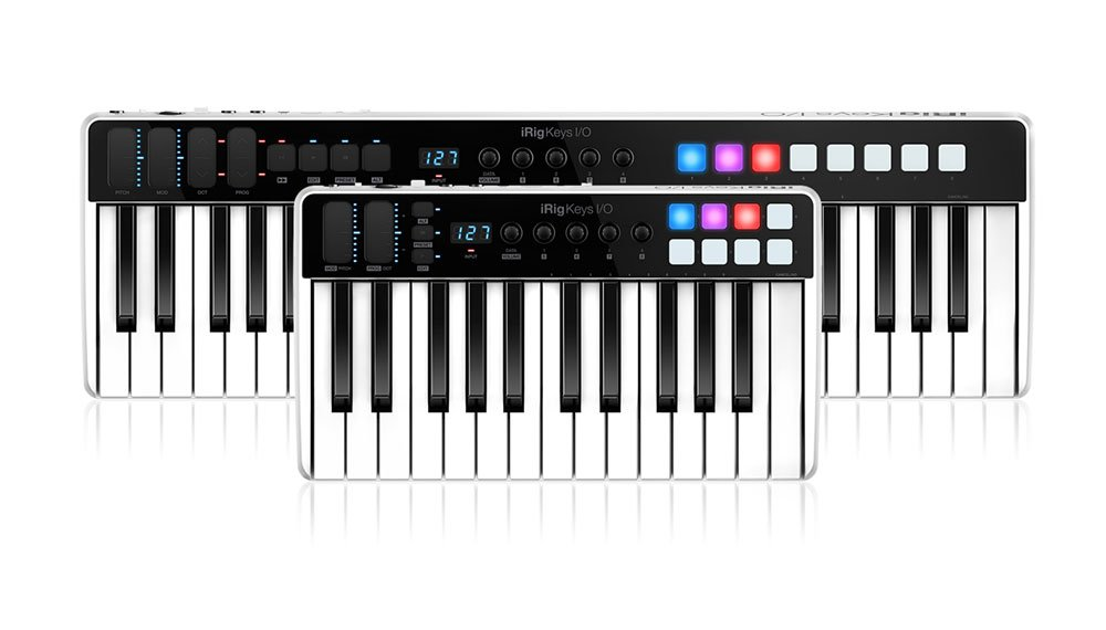 IK Multimedia announces iRig Keys I/O – the all-in-one music production station that goes anywhere you want