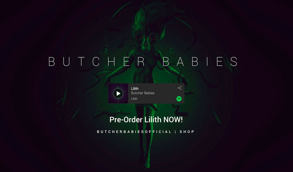 "BUTCHER BABIES Premiere ""Lilith"" Music Video Exclusively with Loudwire – On Tour This Fall w/ Hollywood Undead"