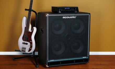 Acoustic Amplification's B410C 4×10 Cab  Delivers Classic Bass Tone