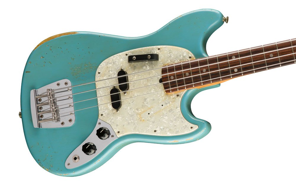 Fender® Teams Up With Bassist and Producer Justin Meldal-Johnsen To Create Artist Signature Series JMJ Road Worn®  Mustang®  Bass