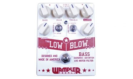 Wampler Low Blow Bass Overdrive & Distortion Pedal
