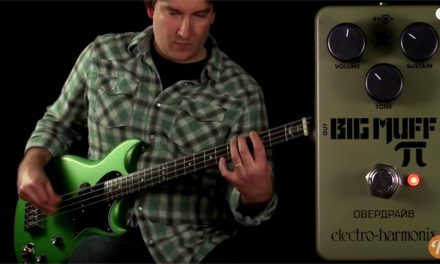 Green Russian Big Muff / Reverb Tone Report Demo
