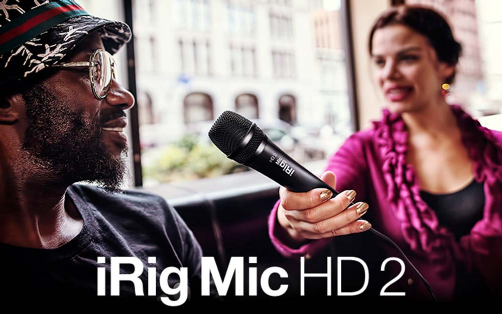 Review units available- iRig Mic HD 2 for iPhone, iPad, Mac & PC!