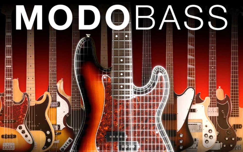 IK Multimedia updates MODO BASS with new models and features