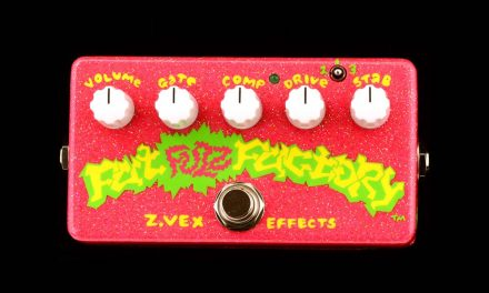 ZVEX Pedal of the Day! Tahitian Treat Fat Fuzz Factory!!!