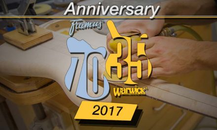 Framus & Warwick Press Release – Documentation of the Anniversaries 2017