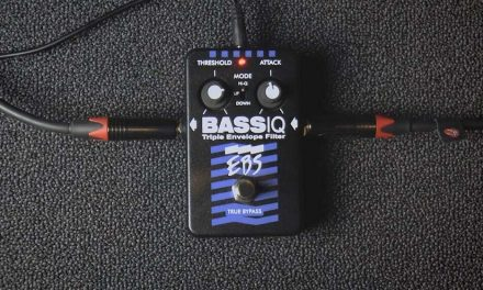 New Video Demo of the EBS BassIQ – 100% fun filter effect!
