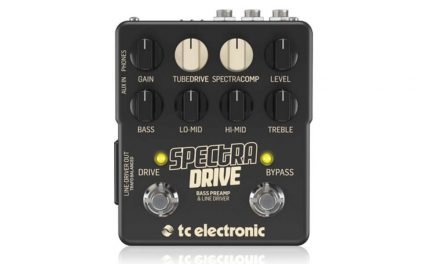 Meet SpectraDrive Bass Preamp & Line Driver!