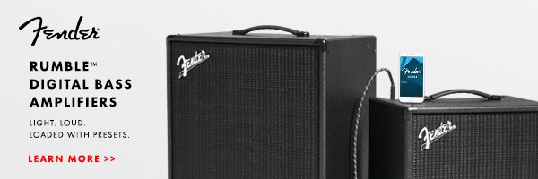 Fender Rumble 600x200