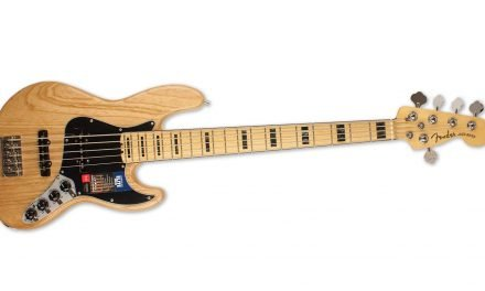 "The Fender Elite Jazz Bass V –  ""An Elite Performer"""