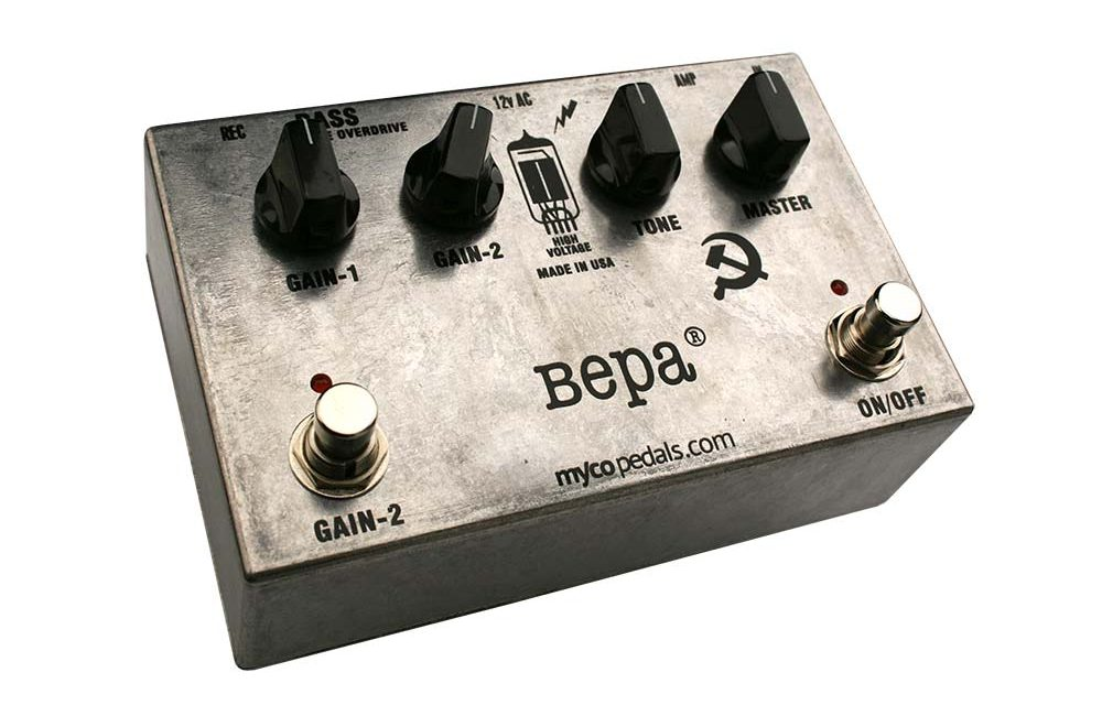 Bepa Bass Tube Overdrive Pedal