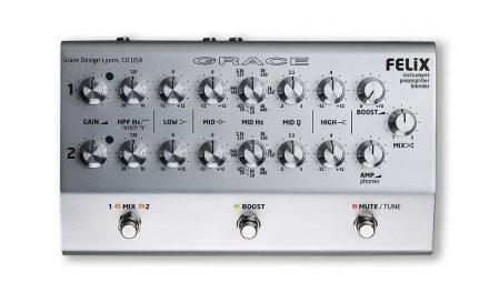 "Grace Design FELiX Instrument Preamp Blender Pedal – ""How Sweet the Sound"""