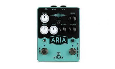 Keeley Electronics Aria Compressor & Overdrive