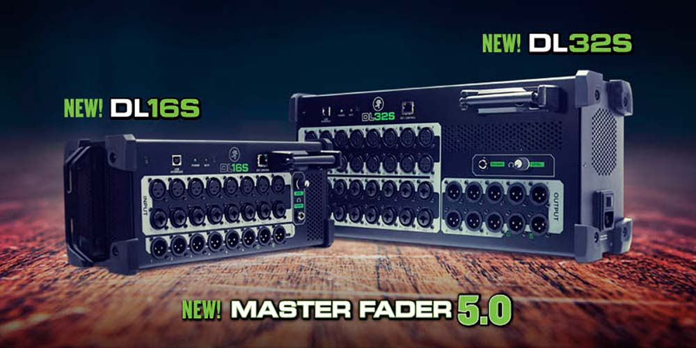New DL Mixers and Master Fader 5.0!