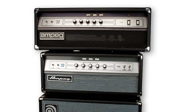 Ampeg V-4B Bass Head and SVT-212AV Bass Cab