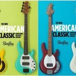 ERNIE BALL MUSIC MAN Announces New STINGRAY Bass; Iconic Instrument Reimagined + Revoiced