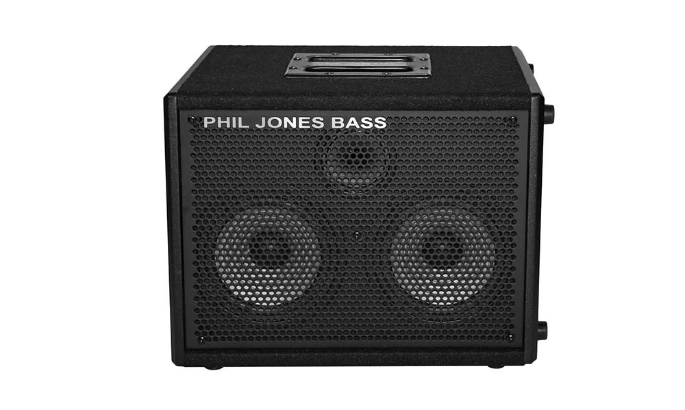 Phil Jones Releases Cab 27 Bass Speaker Enclosure Arrives