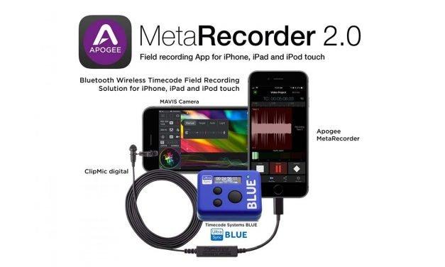 Apogee Announces MetaRecorder 2.0