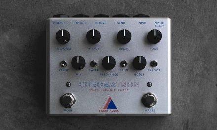 3 LEAF AUDIO Introduces the Chromatron
