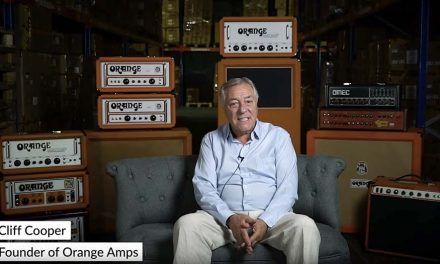 A conversation with Orange Amps Founder Cliff Cooper