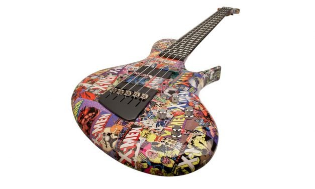 """Mutant Uprising"" – Ritter ""The X-Men"" R8 Concept 5-String Bass Guitar"