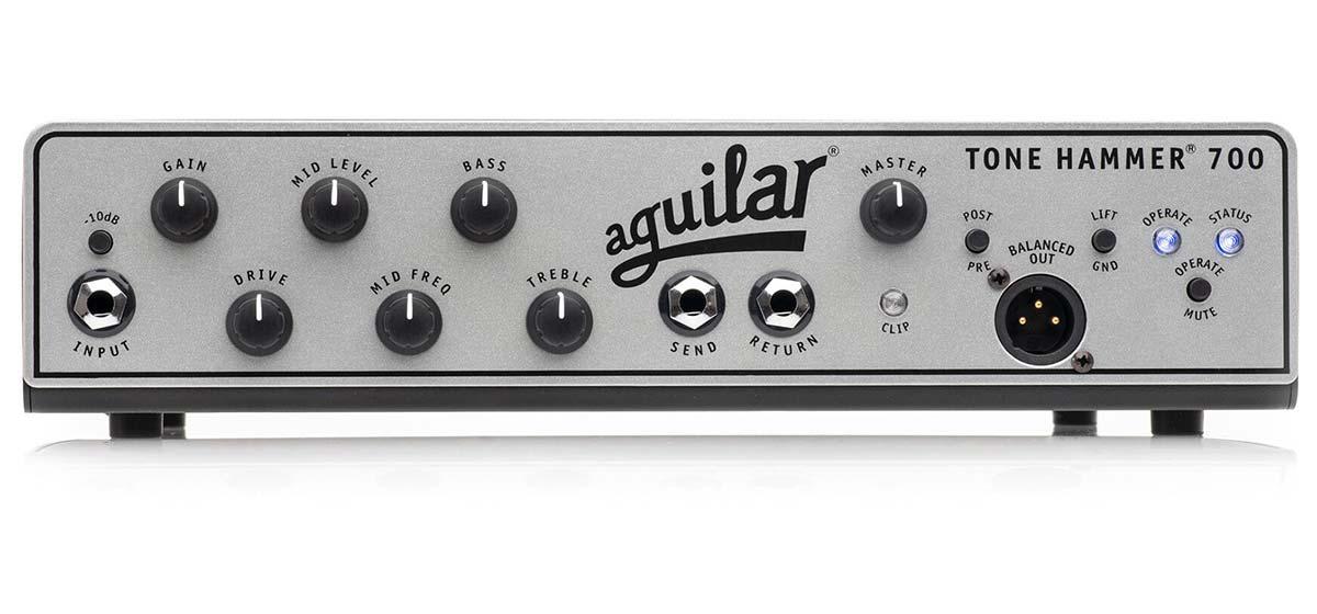 Aguilar Amplification Announces The Tone Hammer® 700 Super Light Amplifier