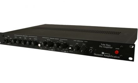 """Powering a Classic"" – Demeter Amplification HBP1-800D Bass Pre/Power Amp"