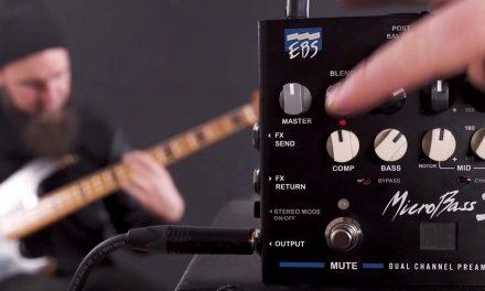 EBS Microbass 3 Bass Preamp