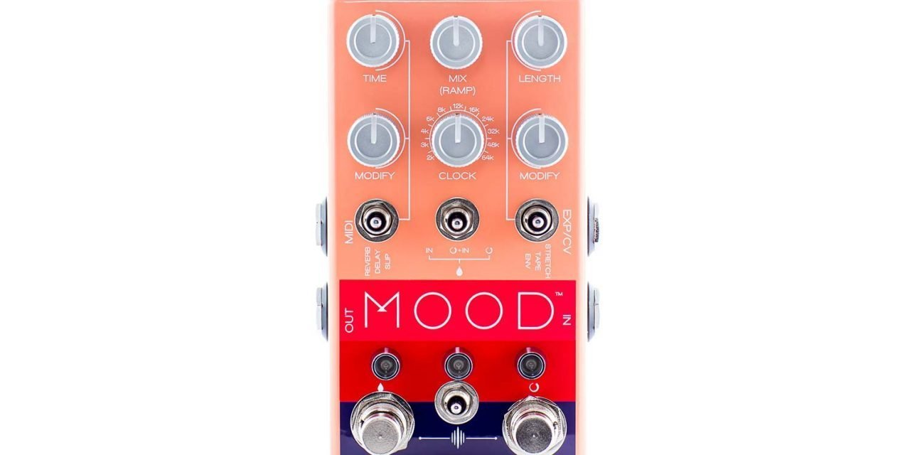 Chase Bliss Audio™ Releases New Pedal:  M O O D™ Granular Collaboration with Old Blood Noise Endeavors and Drolo FX