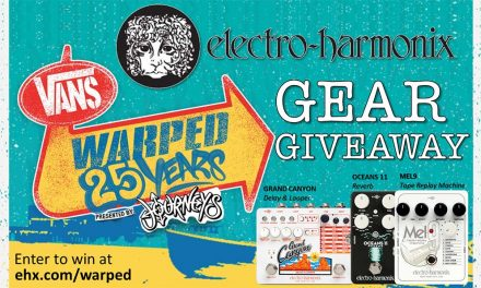 Electro-Harmonix Sponsors Vans Warped 25th Anniversary and celebrates with Gear Giveaway