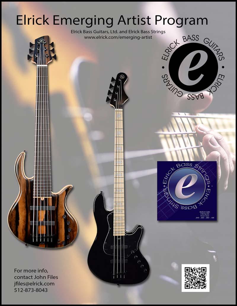 Elrick Emerging Artist Program Bass Gear Magazine