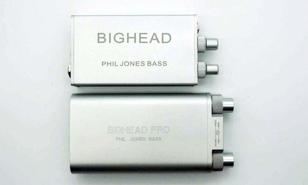 Phil Jones BigHead Pro (HA-2) Mobile Headphone Amplifier and Audio Interface