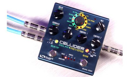 Introducing the Collider Delay+Reverb:  A High-End Collection of Delay and Reverb Effects  in a Single Pedal