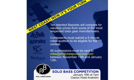 Solo Bass Contest at NAMM