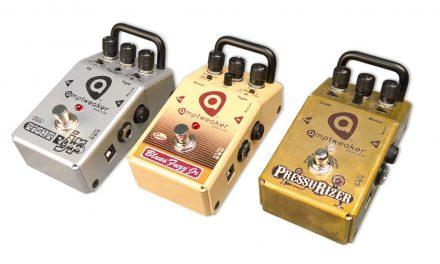 Bassic Review – Amptweaker Bass TightFuzz Jr., Bass BluesFuzz Jr., and PressuRizer Pedals