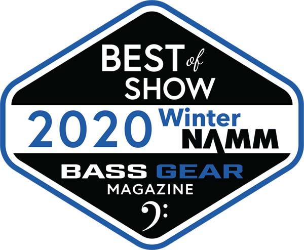 NAMM 2020 Award Logo