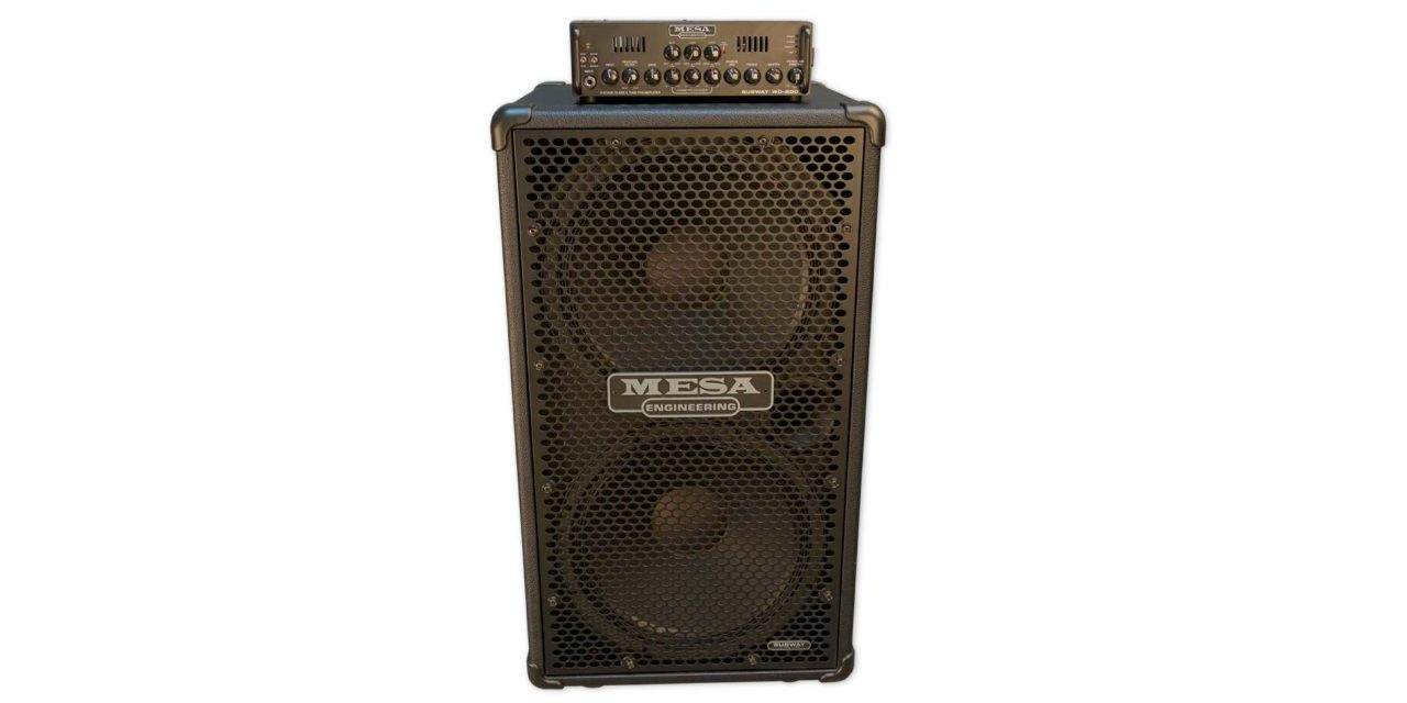 MESA/Boogie Subway WD-800 Bass Head and Subway Ultra-Lite 2×15 Vertical Bass Cab