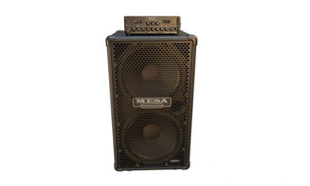 MESA/Boogie Subway WD-800 Bass Head and Subway Ultra-Lite 2×15 Vertical Bass Cab