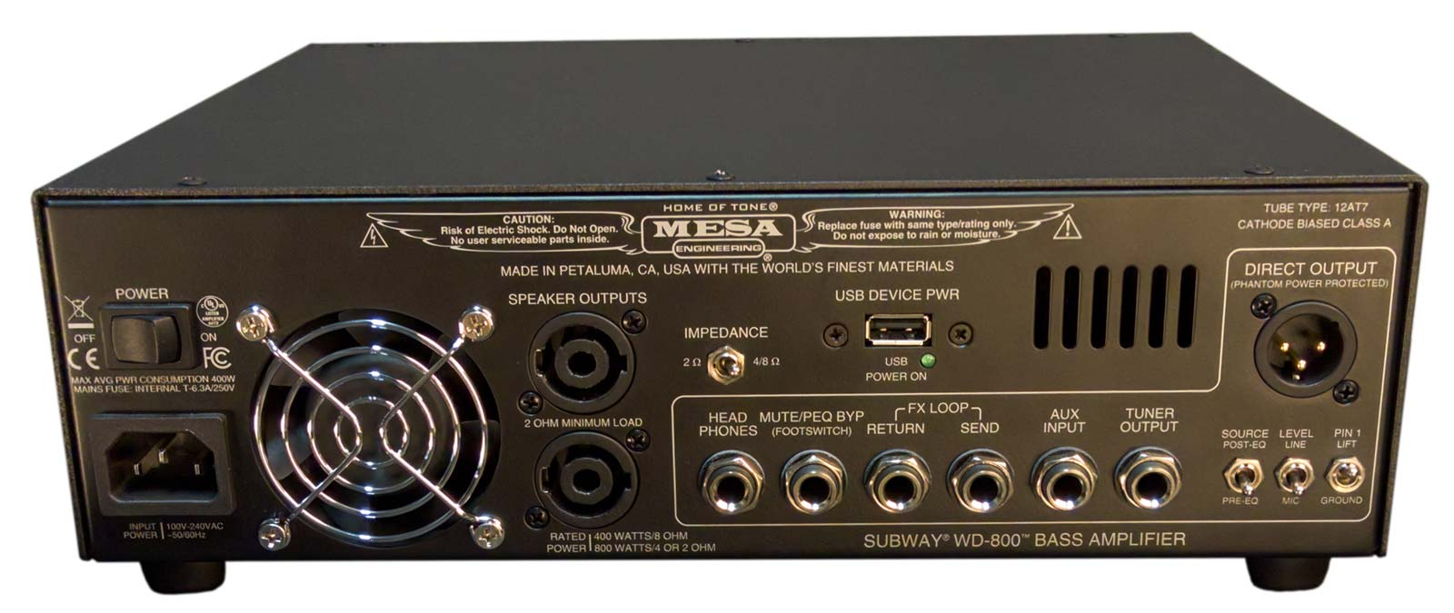 WD-800 Bass Head