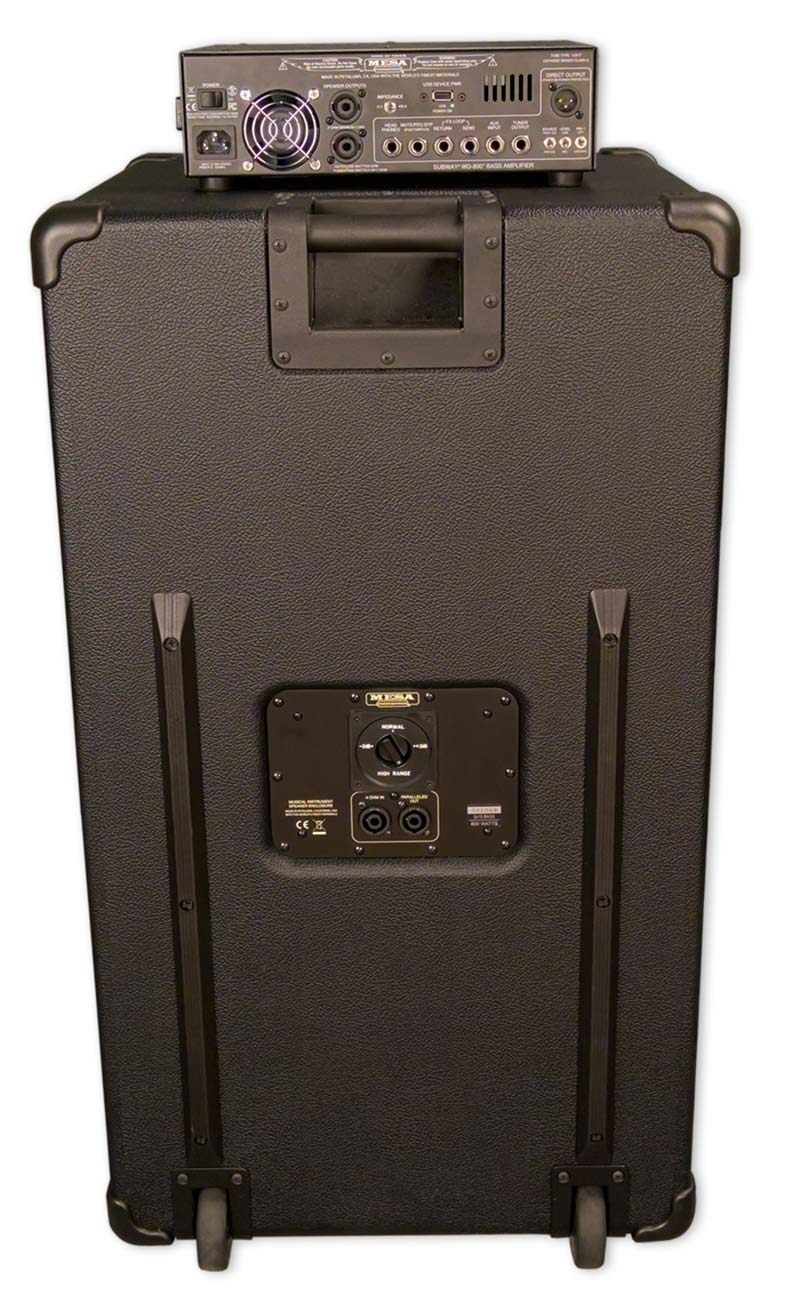 2x15 Vertical Bass Cab