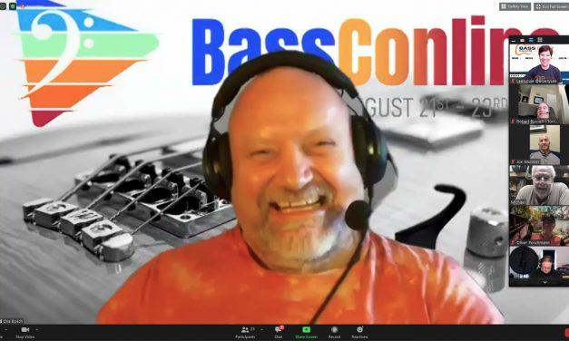 BassConOnline – August 21-23, 2020