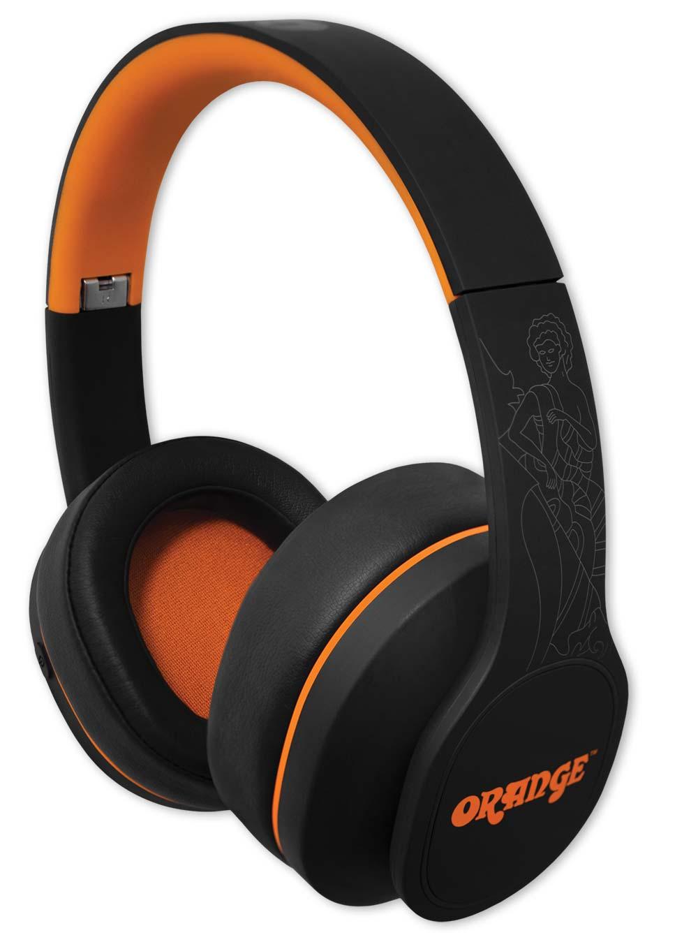 Orange Crest Edition Wireless Headphones